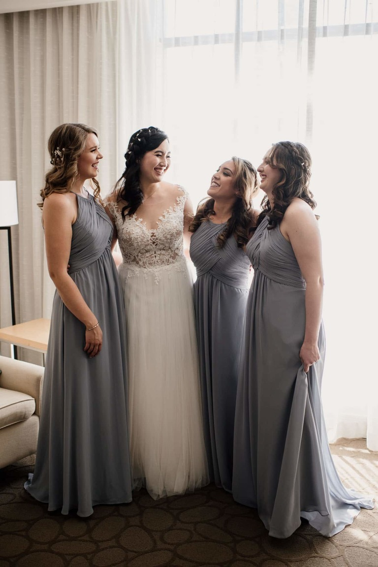 Bridal Party Photos Delta Victoria Weddings Vancouver Island Photographer