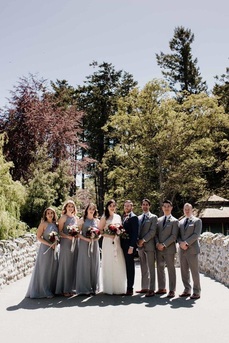 Wedding Party Photos Delta Victoria Weddings Vancouver Island Photographer