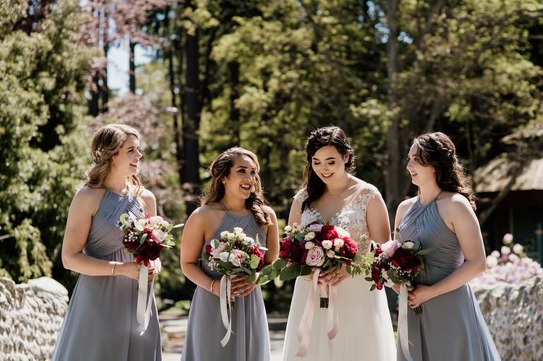 Bridal Party Delta Victoria Weddings Vancouver Island Photographer