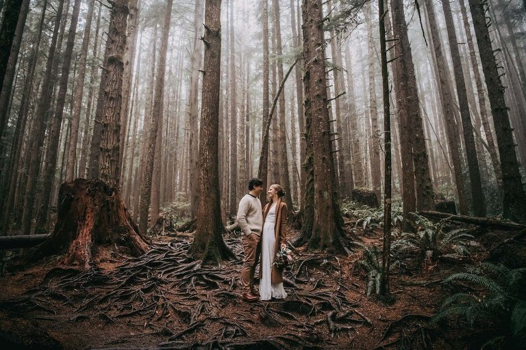 Professional Photographer Victoria BC Elopement Photography
