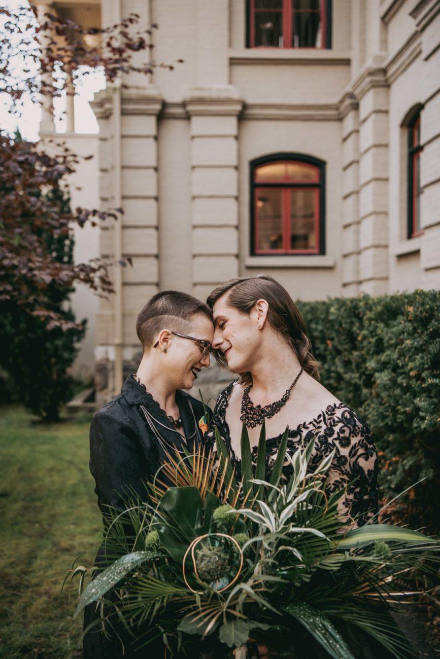 Non Binary Wedding Victoria Photographers Styled Shoot